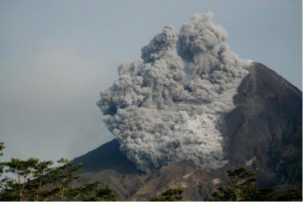 Foto-Foto Letusan Gunung Merapi 2010